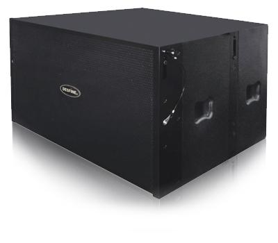 AL218A · 双18″有源超低频线阵扬声器
